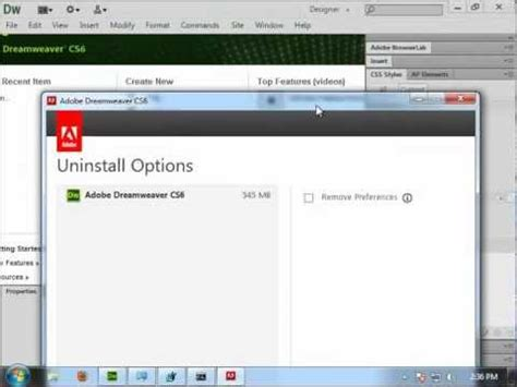 adobe illustrator cs6 uninstaller uninstall adobe how to uninstall adobe dreamweaver cs6 v12 0 youtube