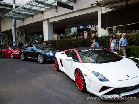 Lamborghini Indonesia Club Lamborghini Gallardo Spotted In Jakarta Indonesia On 06
