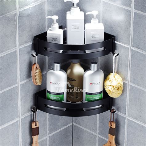 black bathroom shelves black bathroom shelves why should you opt for these