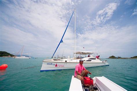 catamaran sailing koh samui cruises on sailing catamaran fun cat yachts tours on