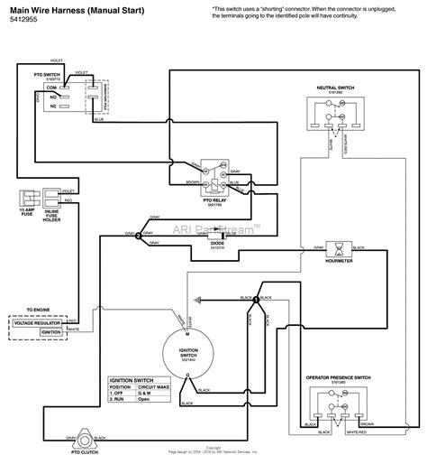 snapper pto wiring diagram wiring diagram with description