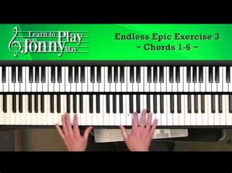 epic film chord progressions endless epic chord progression lesson demo with jonny