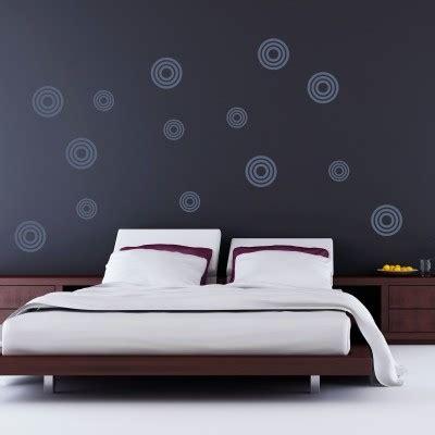 murales da letto adesivo murale cerchi fantastici stickers murali