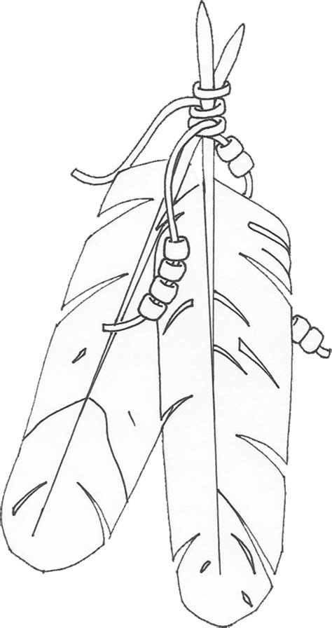 american indian feather coloring pages coloring pages
