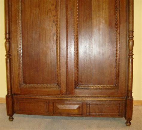 large antique armoire large antique french provincial oak armoire antiques atlas