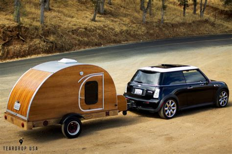 Gidget Teardrop Camper by Mini Cooper Camper Trailer Rvs For Small Car Owners