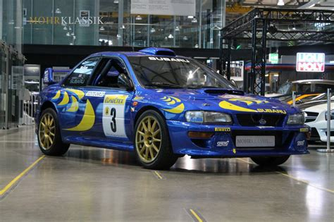 subaru wrc for sale colin mcrae s 1997 subaru impreza wrc is up for sale