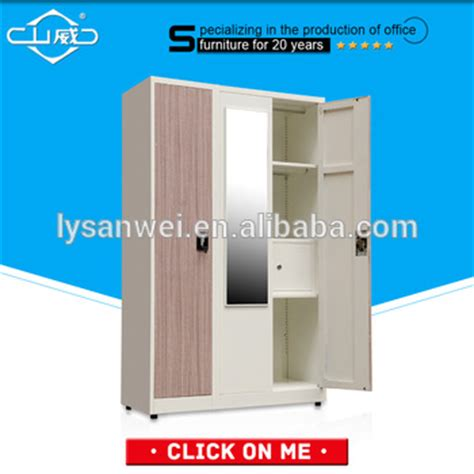 transfer color 3 doors low price clothes almirah steel