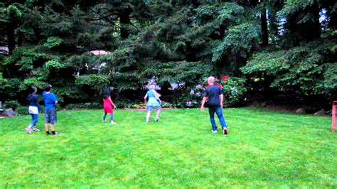 kids playing in backyard 2011 neil birthday kids playing soccer in the backyard