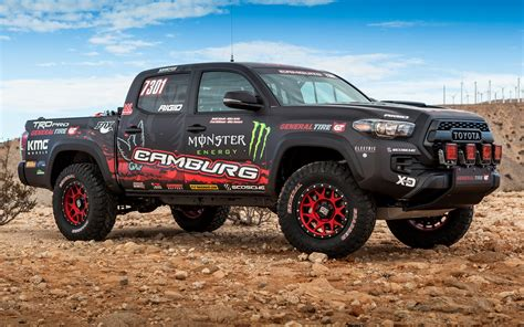 toyota tacoma trd pro race truck  wallpapers  hd images car pixel