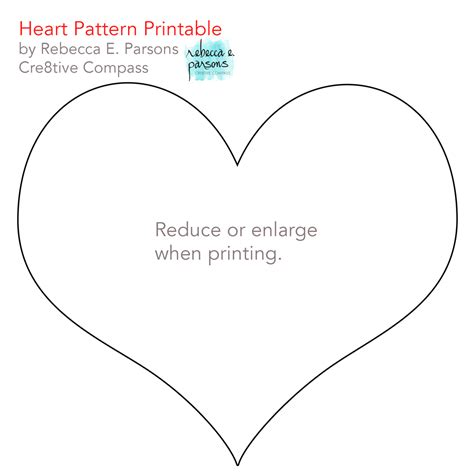 heart pattern free printable quick valentine craft how to recycled quilt hearts