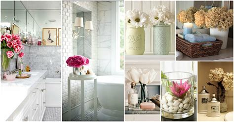 Decorating Ideas For The Bathroom by Bathroom Decor Blossoms Xoxo
