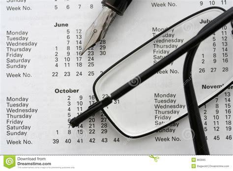 Z Calendario 2006 Business Calendar 2006 Royalty Free Stock Photo Image