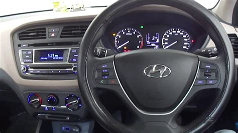 I20 Car Interior by Hyundai Elite I20 Magna 2016 Model Interior With Dual