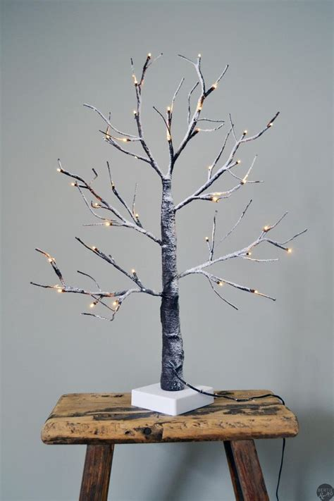 diy make tree light indoors small luxury light up tree outdoor indoor use led twig tree tree weddi twig