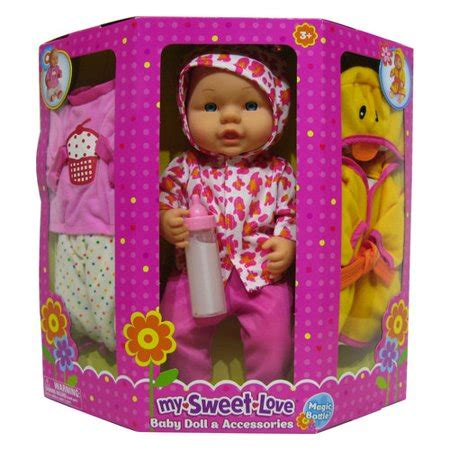 american baby dolls at walmart my sweet baby doll and accessories walmart
