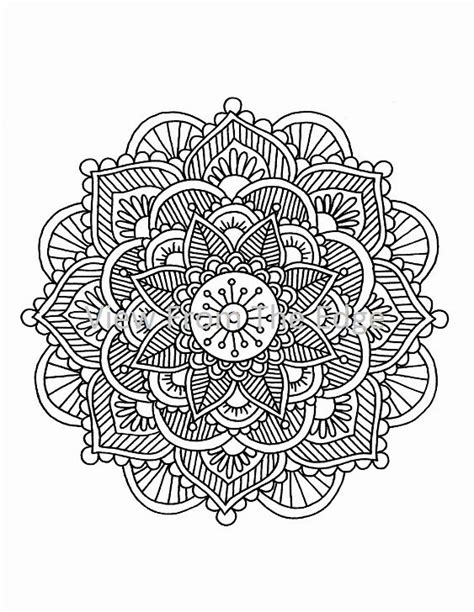 henna hand coloring pages makedes com