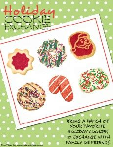 Cookie Exchange Invitations Bake Sale Flyers Free Flyer Designs Cookie Flyer Template
