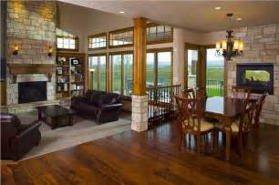 open great room floor plans eclectic architecture rustic majestic