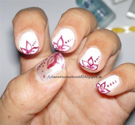 tutorial nail art elegant girly girl nail art challenge 3 delicate and elegant