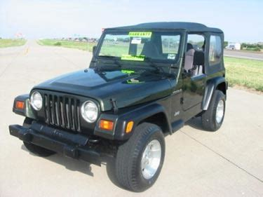 1998 Jeep Engine For Sale 1998 Jeep Wrangler 4x4 Se For Sale