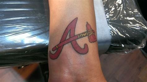 atlanta braves tattoos atlanta braves tattoos