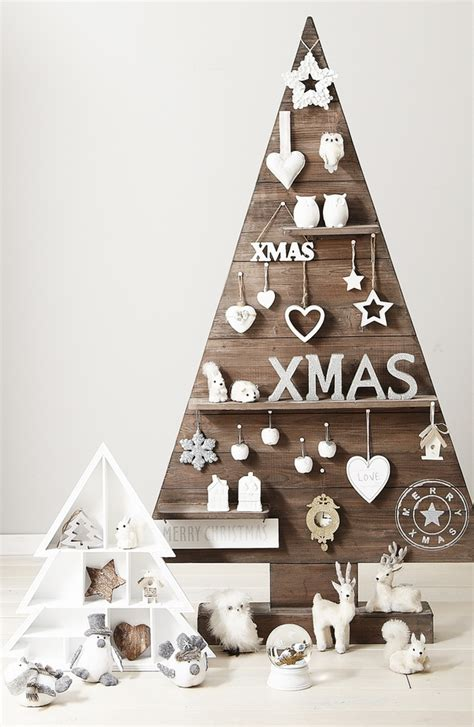 simple xmas wood pallet tree ideas creative diy decorations