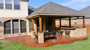 Shade Cover For Patio Stamped Concrete Covered Patio Perfection Archadeck