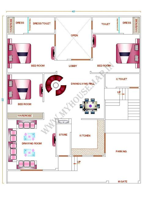 28 house map design 25 x 50 25 215 50 house plan