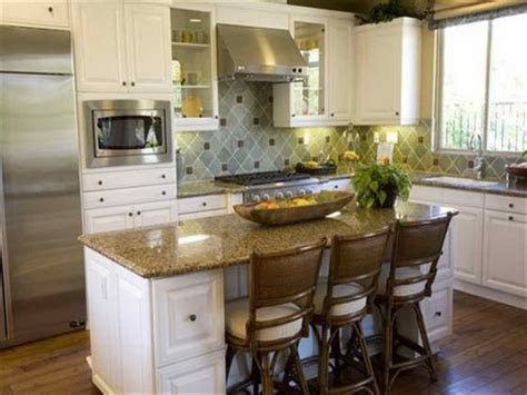 ideas for small kitchen islands innovative small kitchen island designs ideas plans cool