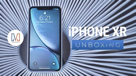 iphone xr unboxing and on