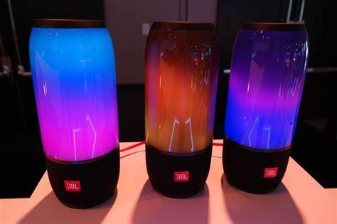 jbl light up speaker ces 2017 new jbl pulse 3 speaker turns heads