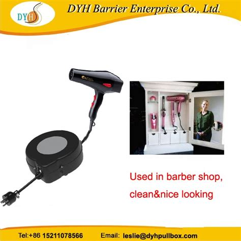Retractable Hair Dryer auto retractable extension cord reel for hair dryer