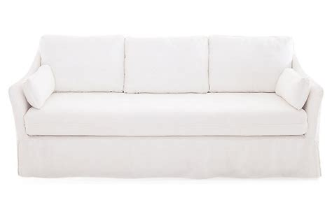 white linen slipcover sofa linen slipcovered sofa style line pillow seat sofa jordan