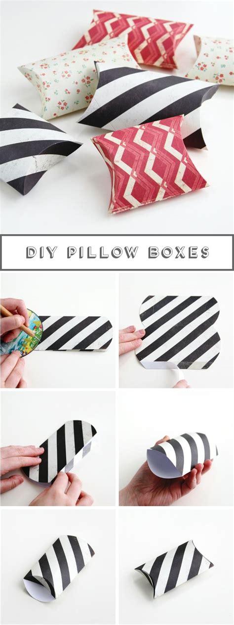 pillow box basteln the 25 best ideas about pillow box on pillow