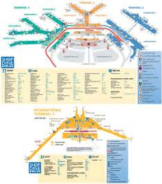 Chicago O Hare Airport Map by Chicago O Hare Airport Map