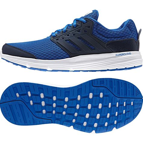 Original Sepatu Adidas Mens Running Galaxy 3 M Blue adidas mens shoes aq6540 galaxy 3 m running mesh blue