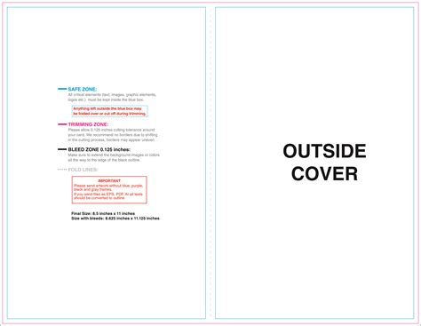 Half Fold Card Template Free by Half Fold Jpg Outside
