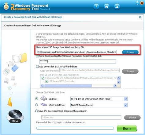 windows password reset standard a helpful tutorial how to use windows password recovery