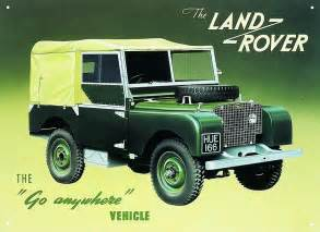 land rover series 1 tin signs metal signs sold at