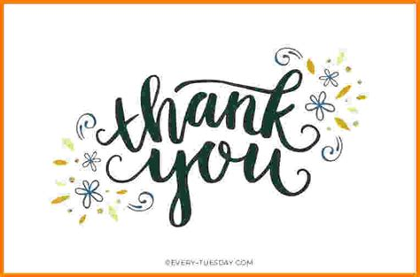 5 thank you card template card authorization 2017