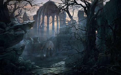 Desktop hintergr 252 nde galerie 3d kunst pfad zu dem gotischen chor