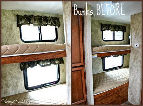 travel trailer bedding vintage dutch girl travel trailer makeover part 9 bunk