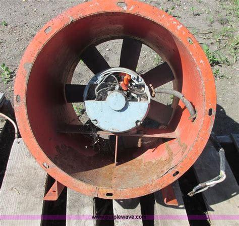 grain bin fan motors monarch grain bin fan no reserve auction on wednesday