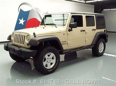 Used Jeep Wrangler For Sale In Michigan Sell Used 2011 Jeep Wrangler Unltd Sport 4x4 Top Auto
