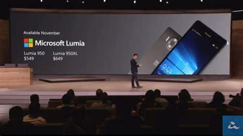Microsoft Lumia 950 Xl Di Malaysia microsoft memperkenalkan lumia 950 dan lumia 950 xl