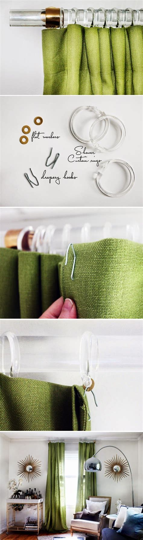 drapery tutorial 90 best images about drapery hardware on pinterest