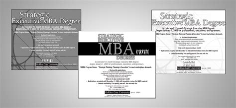 Ggu Mba 2017 by Adding Mbas To The San Fransisco Bay Area Golden Gate