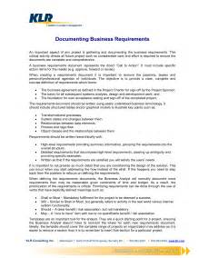Simple Business Requirements Document Template by Business Requirements Document Template Best Business
