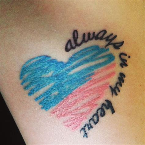 always in my heart tattoo best 25 miscarriage ideas on lost baby
